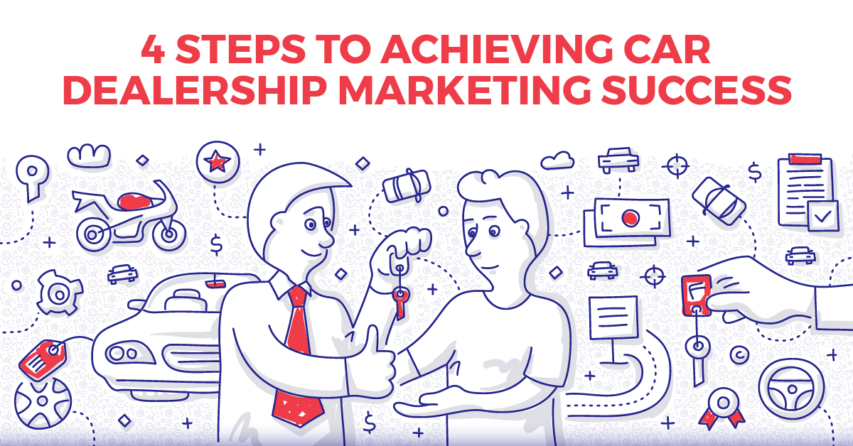 T4 steps to achieving Car Dealership Marketing Success